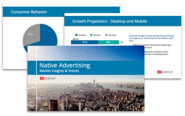 native advertising booklet sample